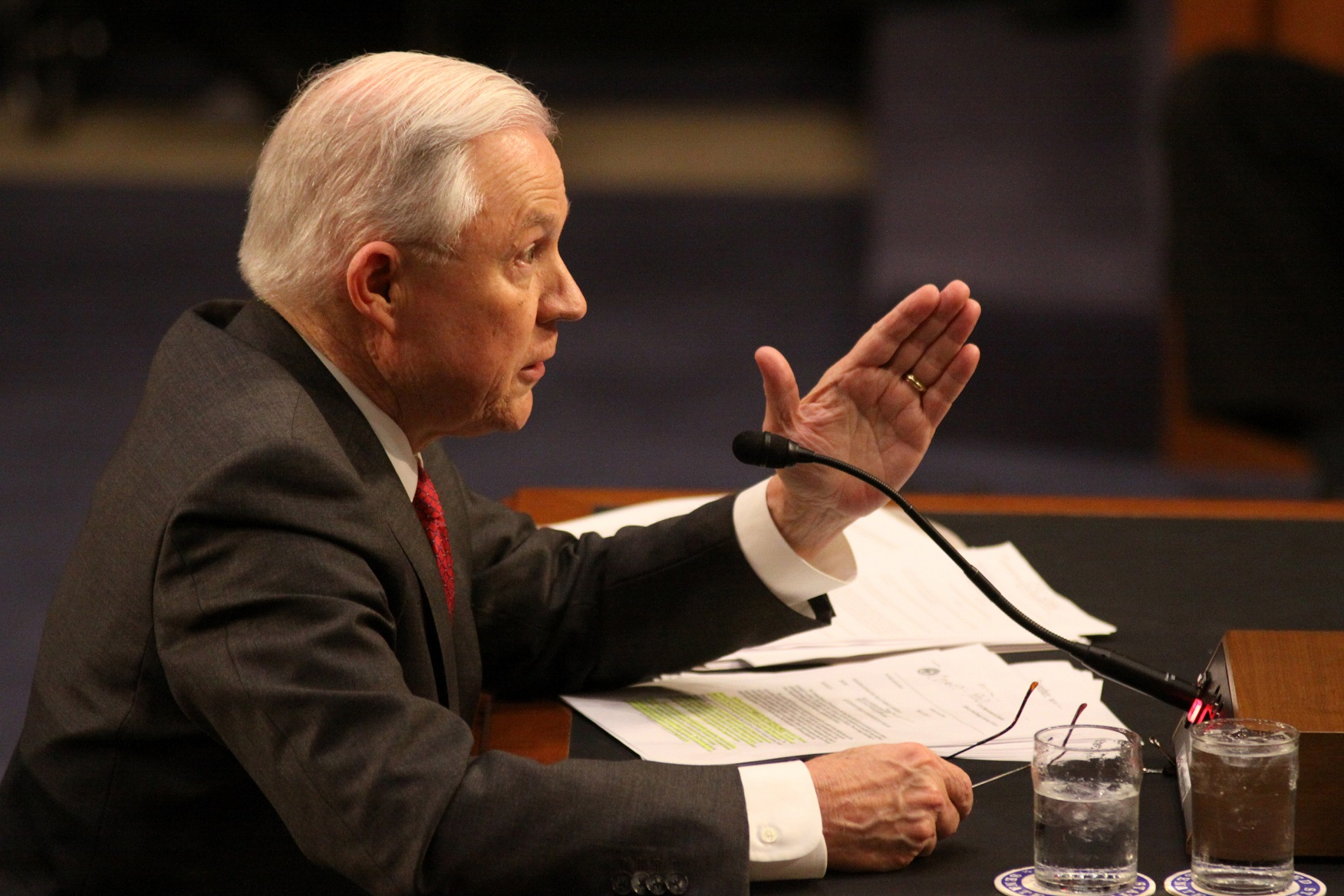 ag jeff sessions at hearing