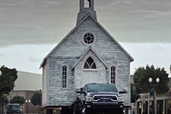 image_of_church_and_truck_in_commercial